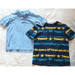 Boy's Short Sleeved Top Bundle